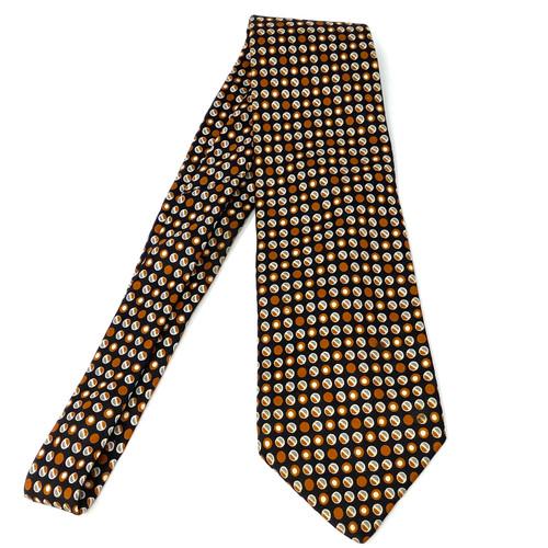 Vintage Yves Saint Laurent Dotted Tie- THumbnail