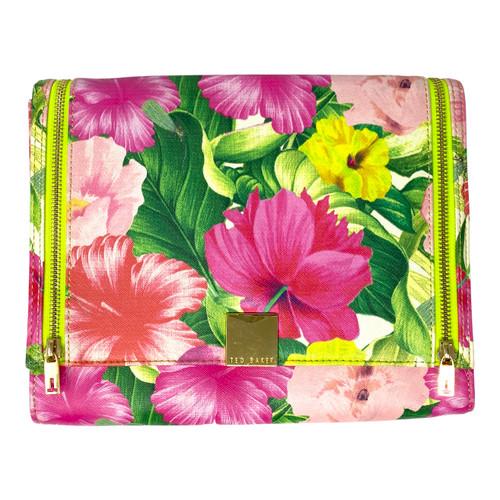 Ted Baker Floral Clutch Bag - Front