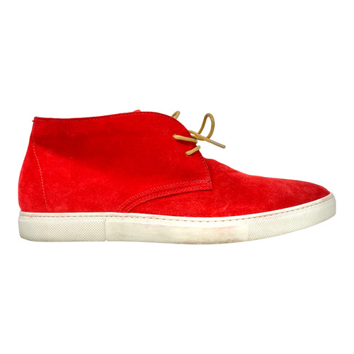 A' Louest Loui Red Suede Chukka Sneaker- Right
