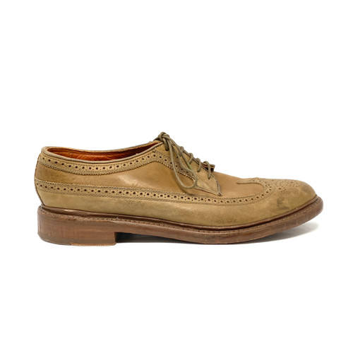 Florsheim by Duckie Brown Leather Brogues - Thumbnail