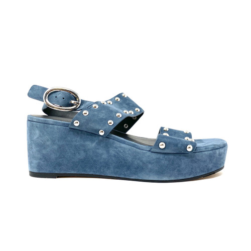 Rebecca Minkoff Ilea Suede Platform Sandals- Right
