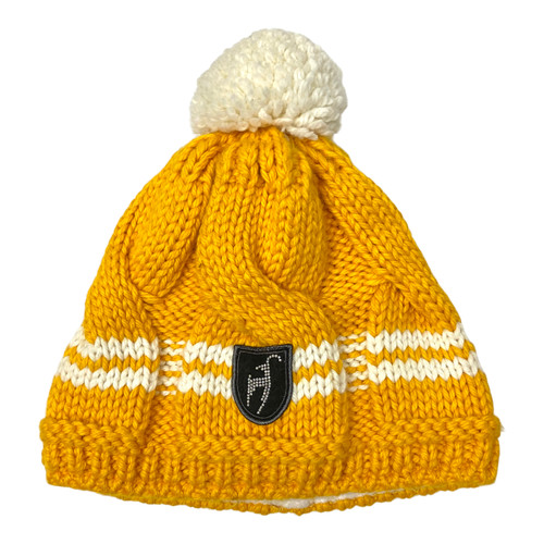 Toni Sailer Swarovski Knitted Tweed Beanie- Front