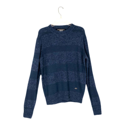 Diesel Two Tone Striped Sweater-Front