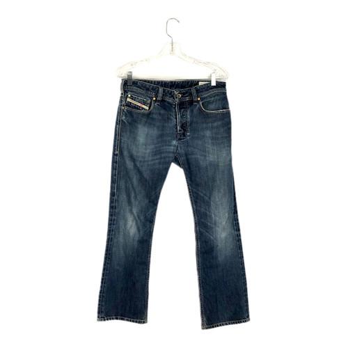 Diesel Zatiny Straight Leg Jeans-Front