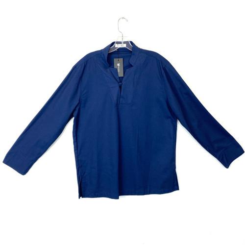 ChArmkpR Mandarin Collar Tunic- Front
