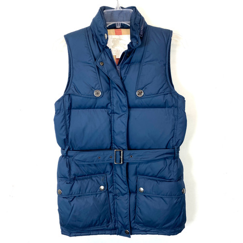 Burberry Belted Down Vest- Front