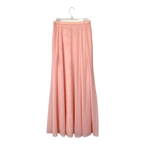 Tadashi Long Mesh Net Skirt- Thumbnail
