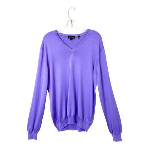 Paul Stuart Cotton V- Neck Sweater- Thumbnail