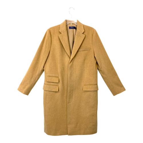Polo Ralph Lauren Wool Cashmere Camel Coat- Thumbnail