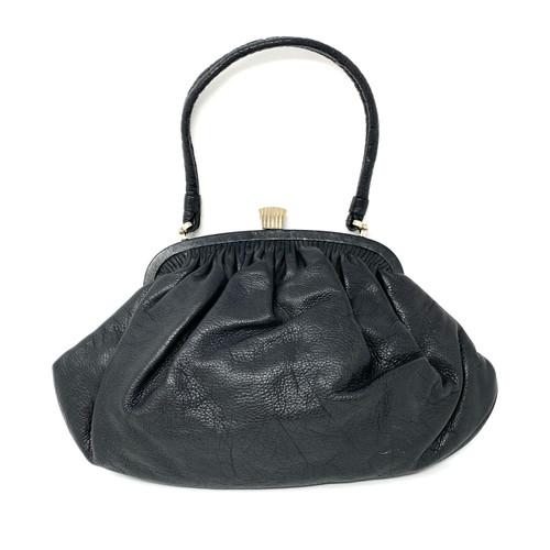 Vintage Geometric Clasp Bag- Front