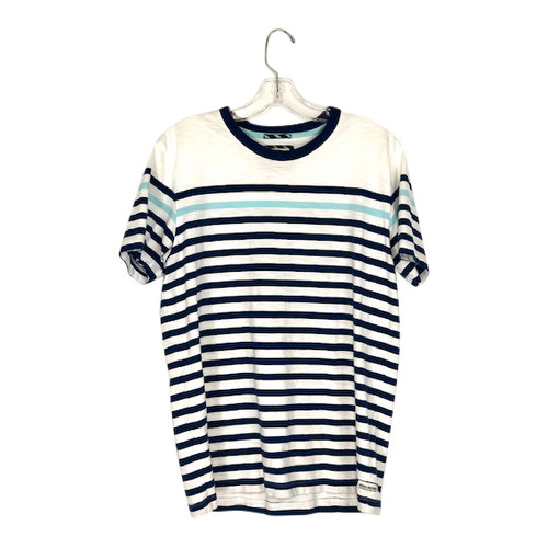 Brooks Brothers Horizontal Stripe T-Shirt- Front