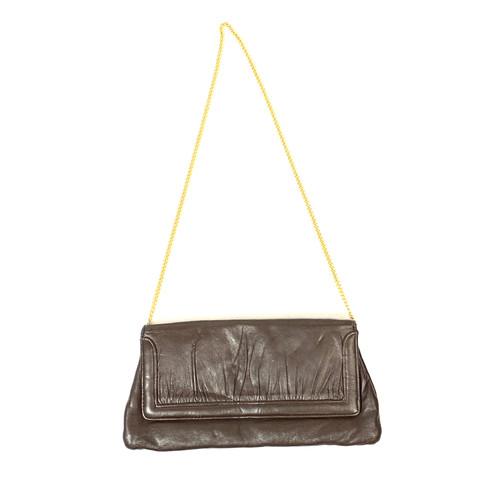 Vintage Gathered Front Crossbody Bag- Thumbnail
