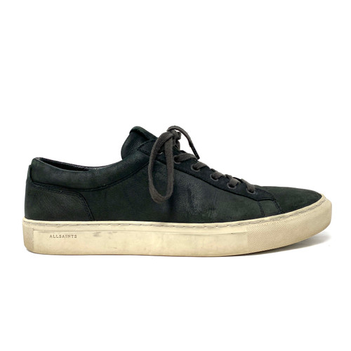 AllSaints Low Top Leather Sneakers - Thumbnail