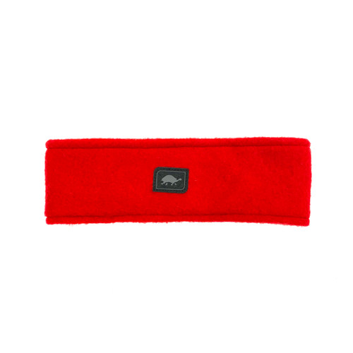 Turtle Fur Red Classic Fleece Double-Layer Headband- Front