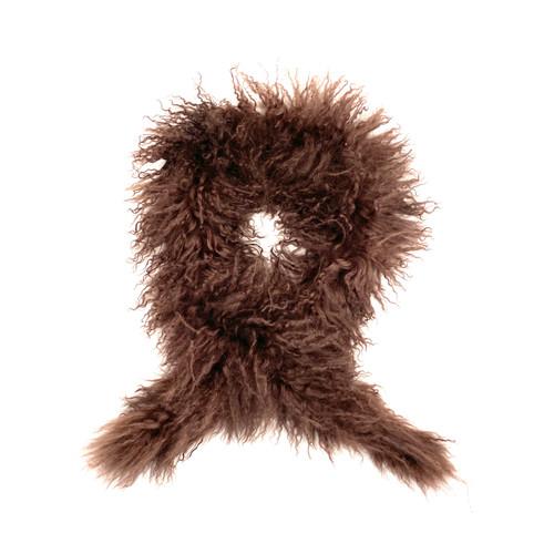 Pelle Nova Di Riviera Curly Fur Scarf- Thumbnail