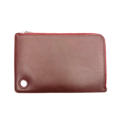 Theory Slim Zip Travel Wallet- Front
