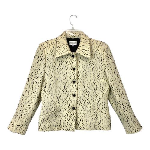 Vintage Petrovitch & Robinson Paris Square Button Jacket- Front
