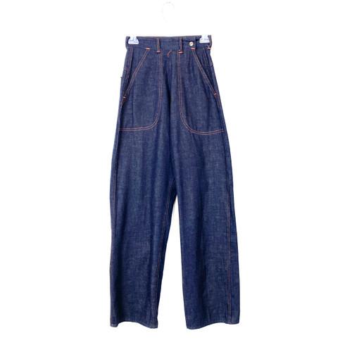 Vintage Palmetto High Waist Wide Leg Jeans- Front
