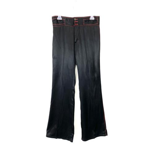 Longjons Low Rise Contrast Stitch Pants- Front