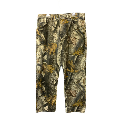 Vintage Pro Gear by Wrangler Camo Jeans- Front