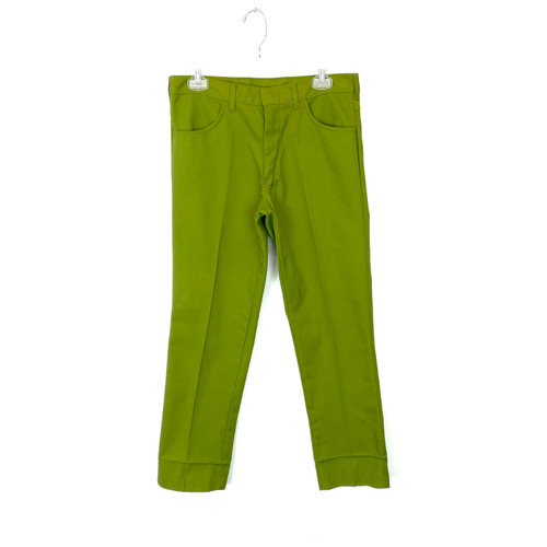Vintage Tapered Twill Pants- Front