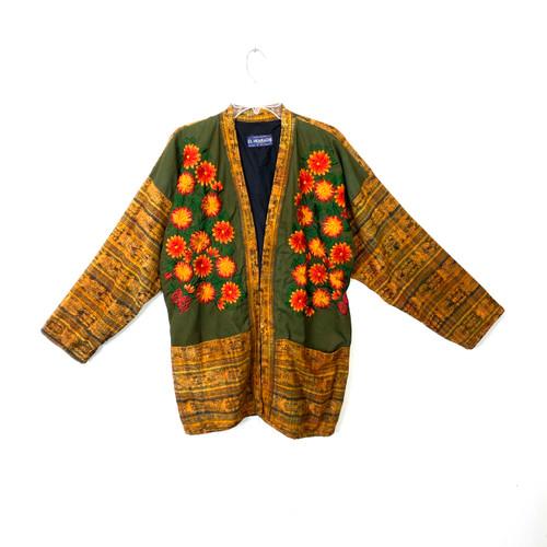 Vintage Jacquard Heritage Weave Jacket- Front