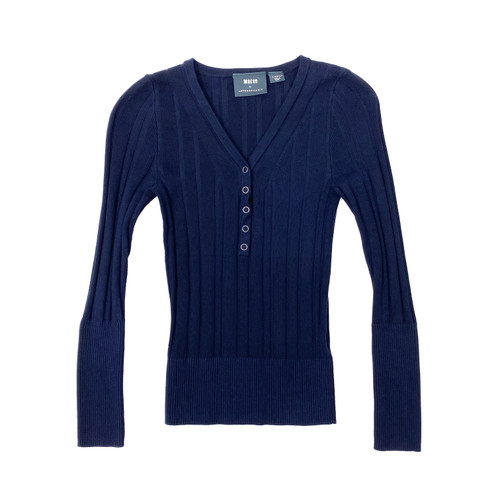 Maeve Snap Button Sweater- Front