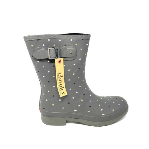 Chooka Polka Dot Rain Boot- Right