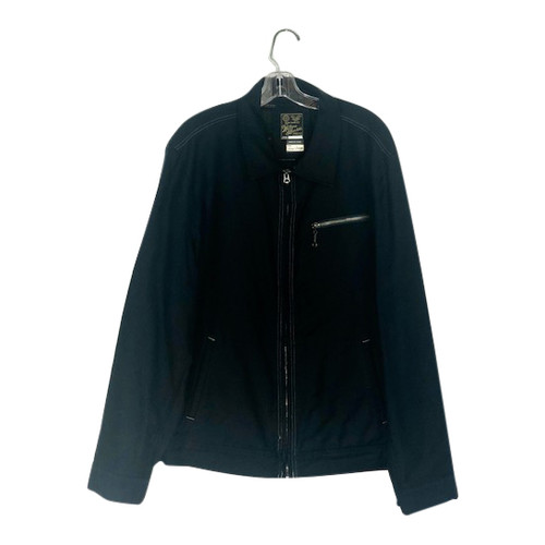 Wallace & Barnes Zipped Work Jacket-Front