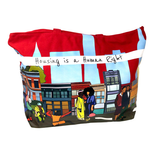 Housing Works Jeremy Martin Tote Bag- Front