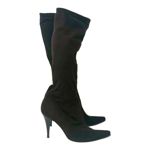 Strategia Suede  Stiletto Boots- Right