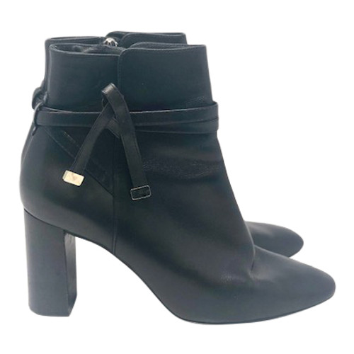 Massimo Dutti Block Heel Booties- Right
