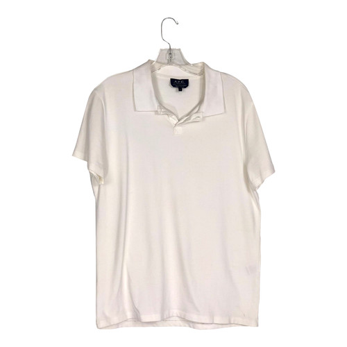 A.P.C. Cotton Pique Polo-Front