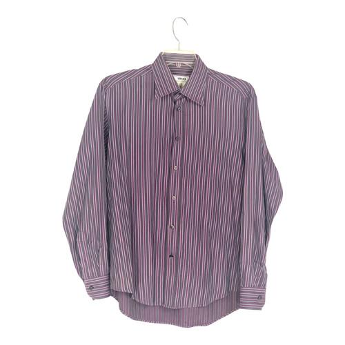 Versace Striped Dress Shirt-Front