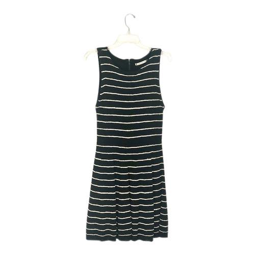 Alice + Olivia Striped Knit Dress-Front