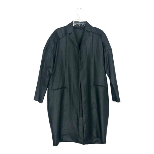 Calvin Klein Oversized Cocoon Duster-Front
