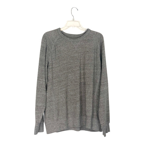Uniqlo French Terry Crewneck Sweatshirt- Front