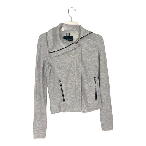 Heroine Sport Zipped Funnel Neck Sweatshirt- Front