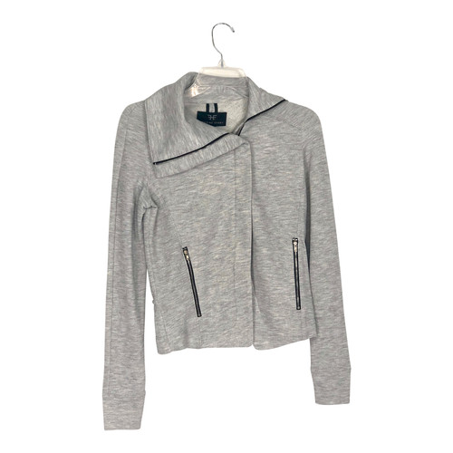 Heroine Sport Zipped Funnel Neck Sweatshirt- Front