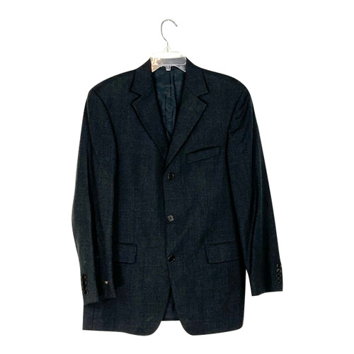 Hugo Boss Three Button Short Lapel Blazer- Front
