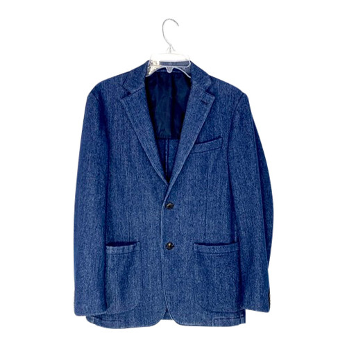 Acquascutum Soft Feel Denim Look Blazer- Front