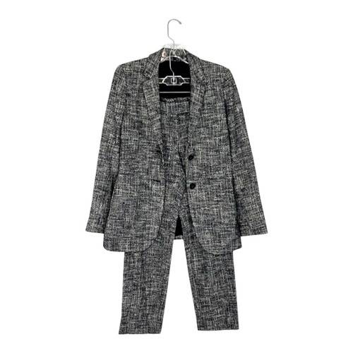 Theory Cropped Leg Tweed Pant Suit- Full Suit