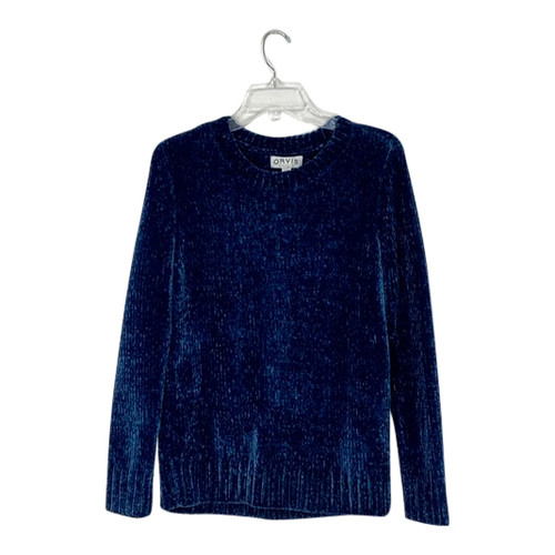 Orvis Chenille Crewneck Sweater- Front