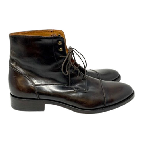 Antonio Maurizi for SuitSupply Leather Lace Up Boots- Right