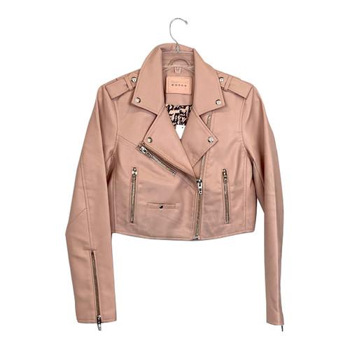 [BLANKNYC] Leather Moto Jacket