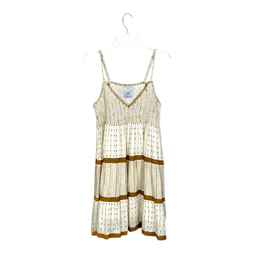 Area Stars Smocked Baby Doll Dress- Front
