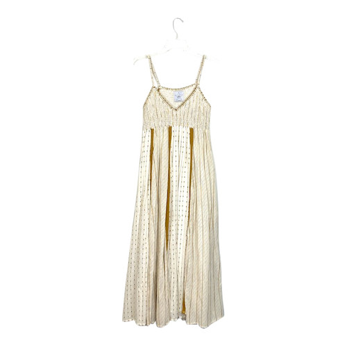 Area Stars Smocked Maxi Dress- Front