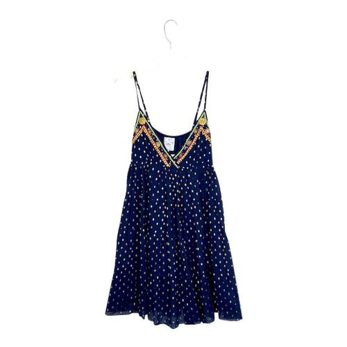 Area Stars Embellished Baby Doll Dress- Front