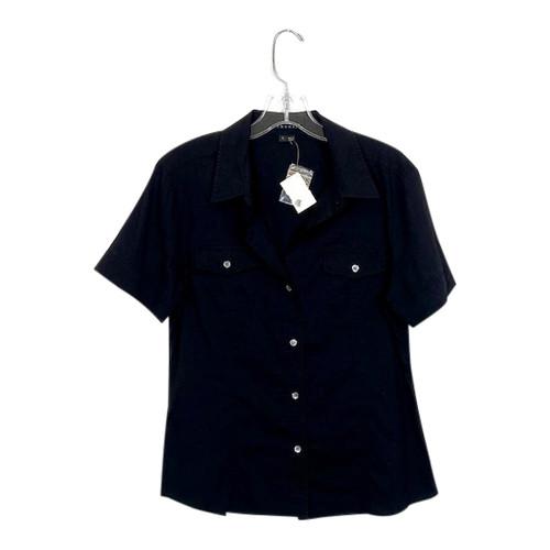 Theory Short Sleeve Safari Shirt- Front