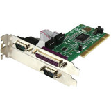 StarTech.com Parallel/serial combo card - PCI - parallel, serial - 3 ports
